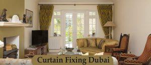 Curtain Fixing international city Dubai